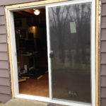 New sliding entry door by Midwest siding & windows