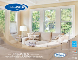 Dynaweld vinyl replacement windows
